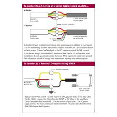 Boat Dc Wiring Diagram Automotive Electrical Symbols Efcaviation Raymarine Raystar 125 User Manual | Page 5 / 8