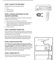 first things first 4step 1 what s in the box step 2 install [ 954 x 1235 Pixel ]