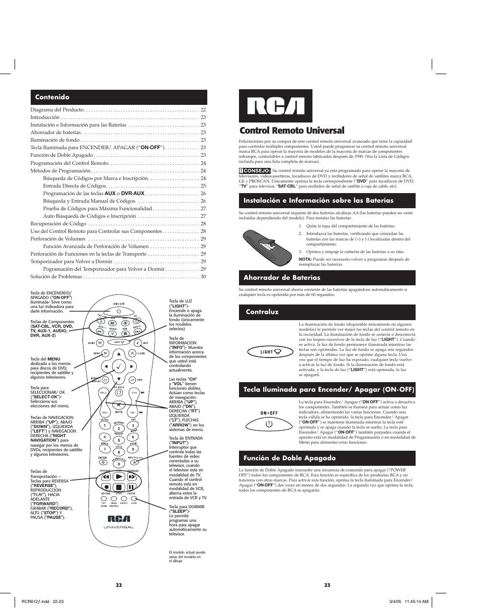 Codigo De Control Universal Rca Para Televisor Lg