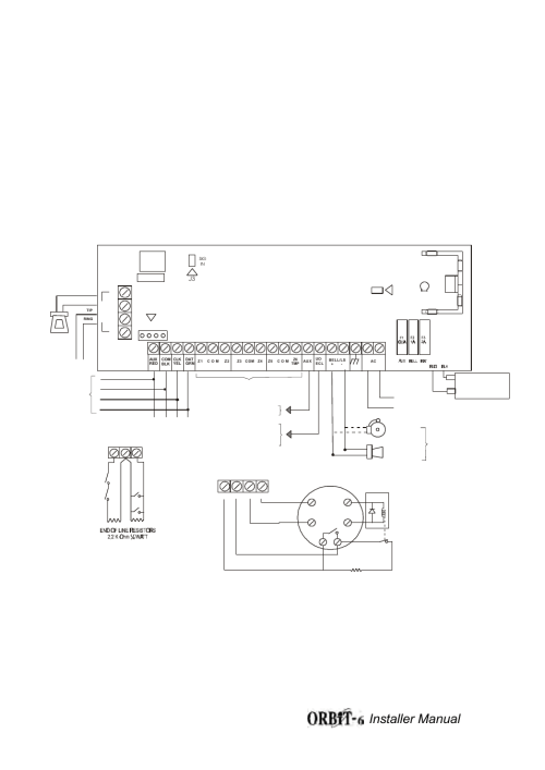small resolution of orbit 6 wiring diagram figure 1a installer manual 32 orbit manufacturing rokonet orbit