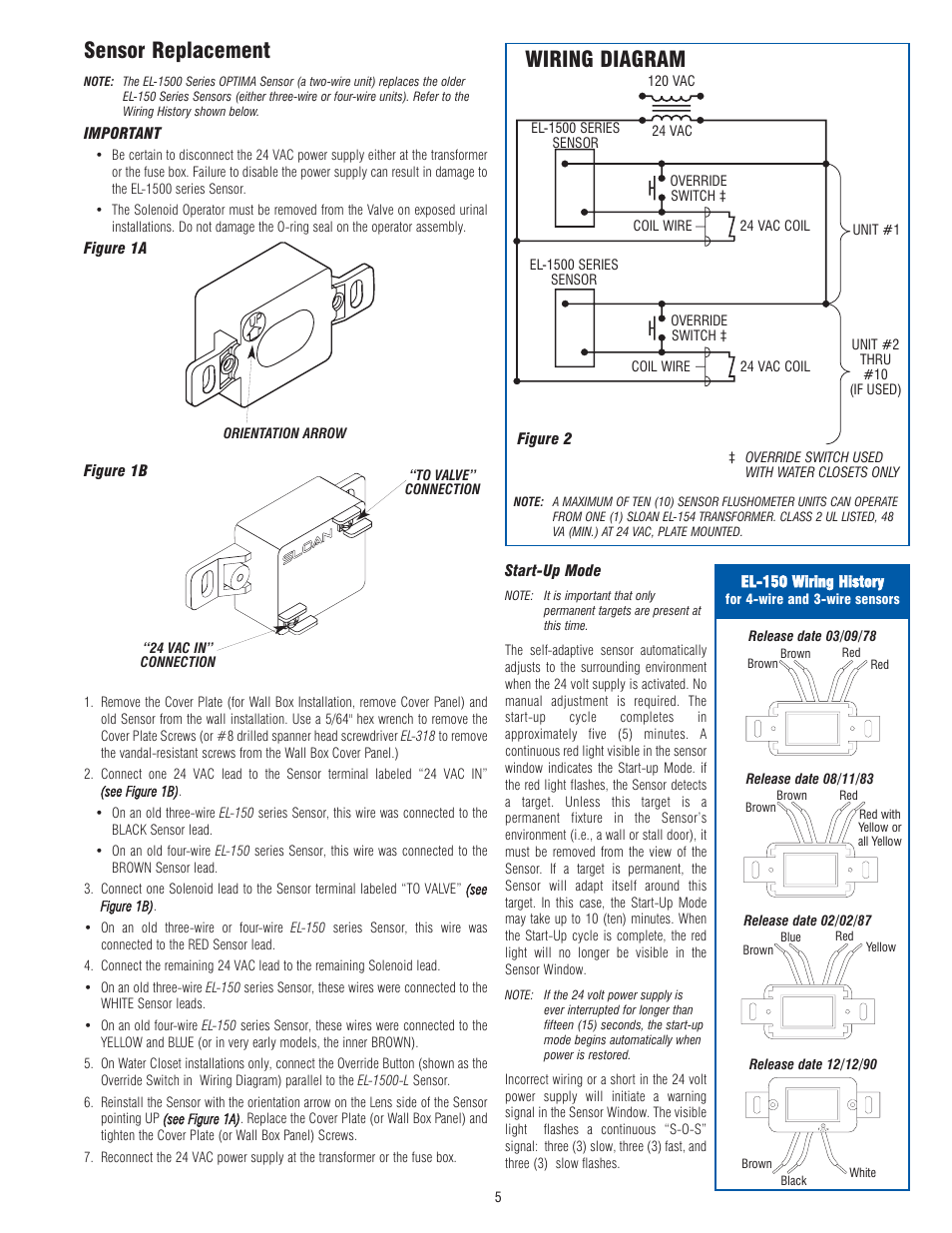 medium resolution of sensor replacement wiring diagram optima company el 1500 user manual page 5 6