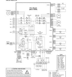 wiring diagram 1 outdoor unit p c board mcc 5009  [ 954 x 1348 Pixel ]