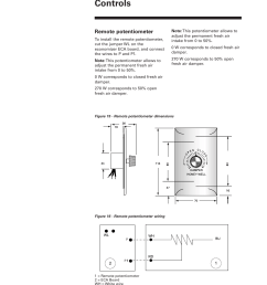 remote potentiometer controls trane rt svx19a e4 user manual page 36 64 [ 954 x 1351 Pixel ]