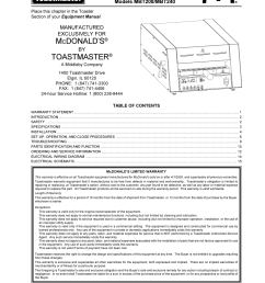 toastmaster mbt240 user manual 16 pagestoastmaster wiring diagram 15 [ 954 x 1235 Pixel ]