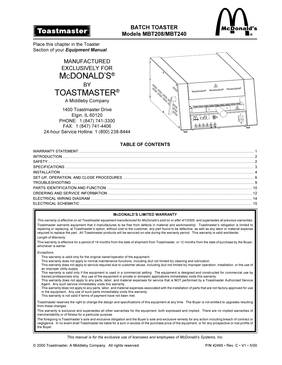 hight resolution of toastmaster mbt240 user manual 16 pagestoastmaster wiring diagram 15