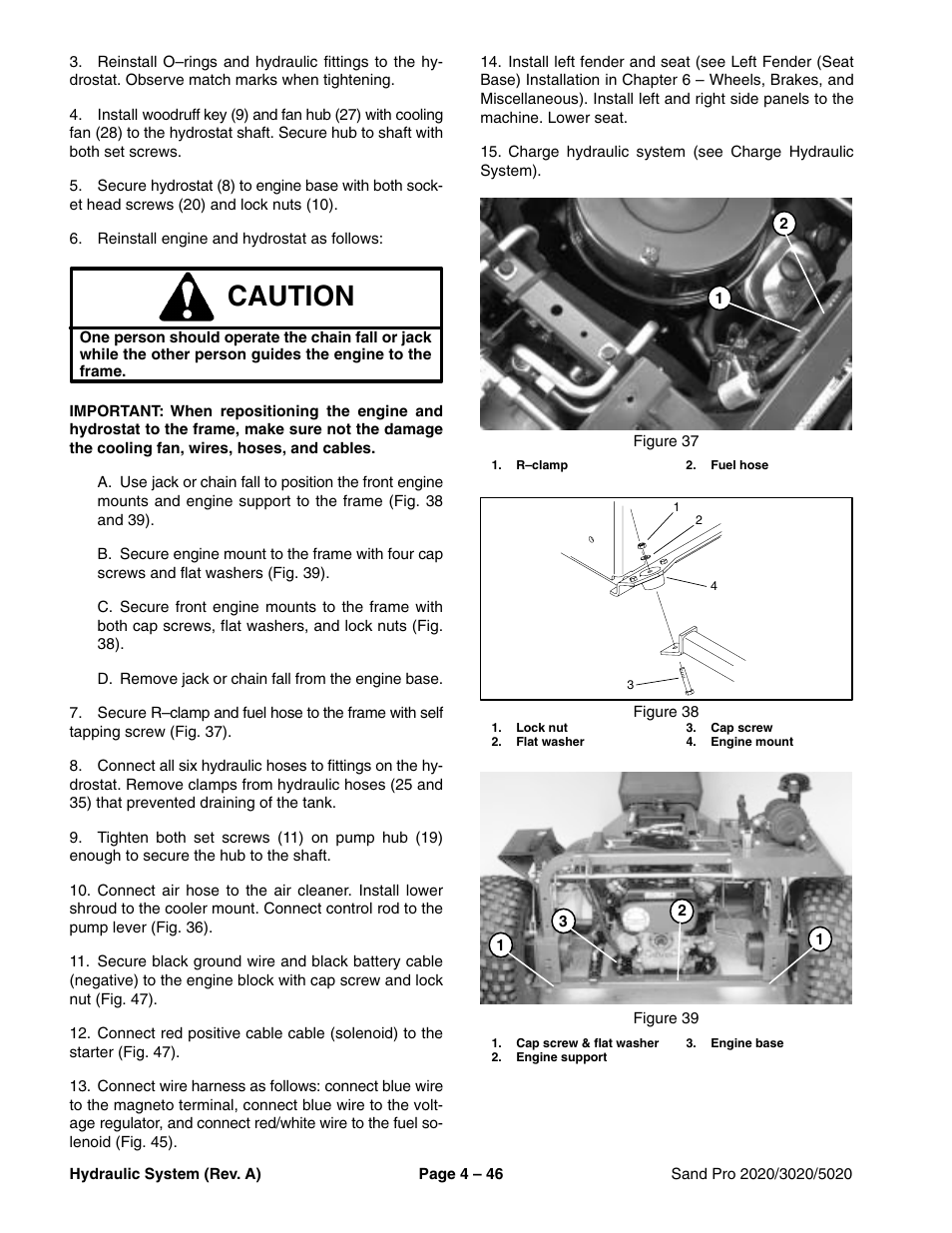 hight resolution of caution toro sand pro 5020 user manual page 96 170 original modecaution toro sand pro 5020