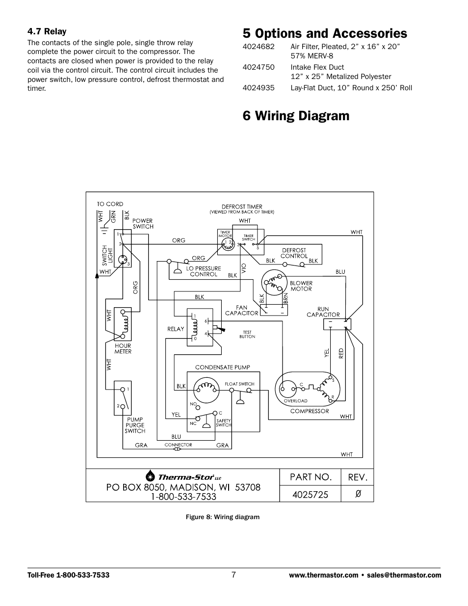 hight resolution of 5 options and accessories 6 wiring diagram therma stor products5 options and accessories 6