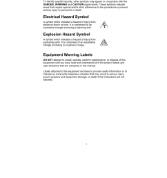 special symbols electrical hazard symbol explosion hazard symbol equipment warning labels toshiba [ 954 x 1235 Pixel ]