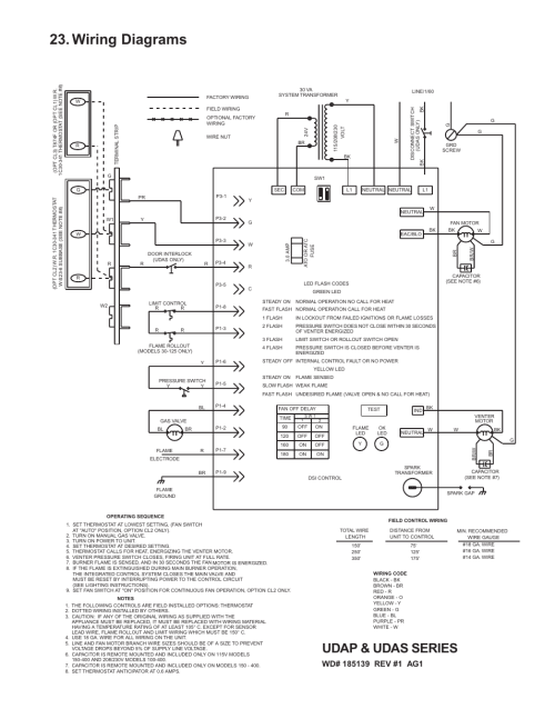 small resolution of wiring diagrams udap udas series thomas betts udap user manual page 23 36