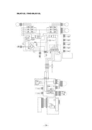 Wiring diagram, Fm pmv, Main pc board wp020 | Toshiba RAS