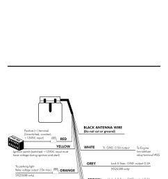 installation manual vs235xr comes with 6 wires only trouble shooting connection diagram [ 954 x 1475 Pixel ]