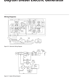 dayton diesel electric generator 4w315c wiring diagrams dayton operating instructions and parts manual [ 954 x 1235 Pixel ]