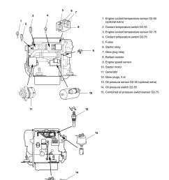 electrical components diagram volvo penta d2 75 user manual page 49 68 [ 954 x 1351 Pixel ]