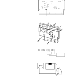 installation remove old thermostat attach thermostat base to wall white rodgers 1f86 444 user manual page 2 4 [ 954 x 1235 Pixel ]