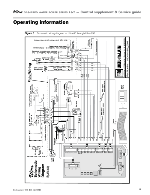 small resolution of operating information weil mclain ultra 230 user manual page 11 60weil mclain wiring diagram 5