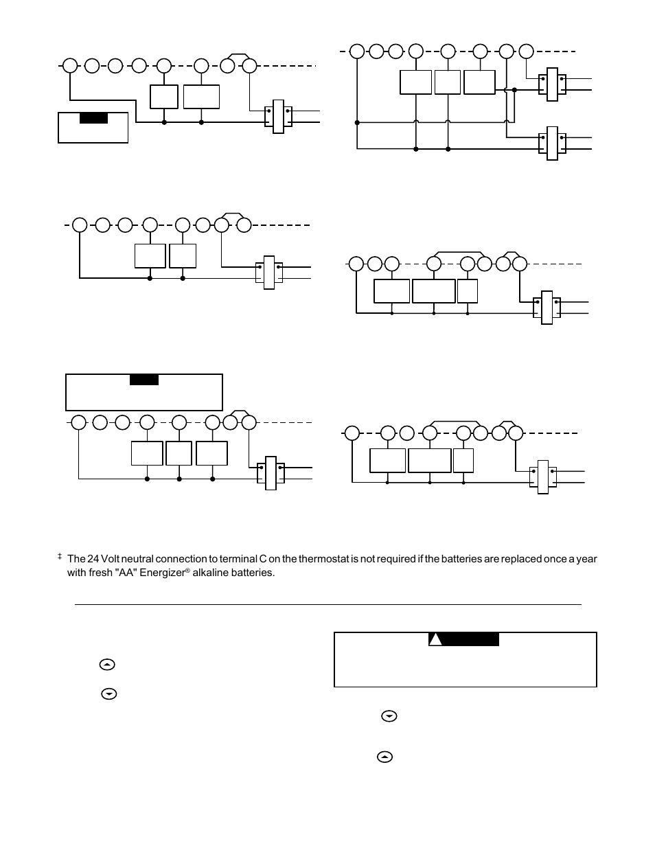 medium resolution of heating system cooling system caution white rodgers 1f86 344 user manual page 3 5