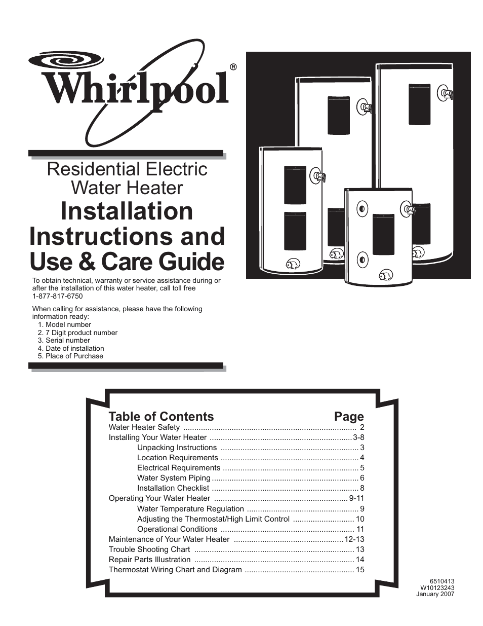 residential thermostat wiring diagram for dimmer switch single pole whirlpool e2f65hd045v user manual | 16 pages also for: 6510413, e2f40hd045v, e2f30hd035v ...