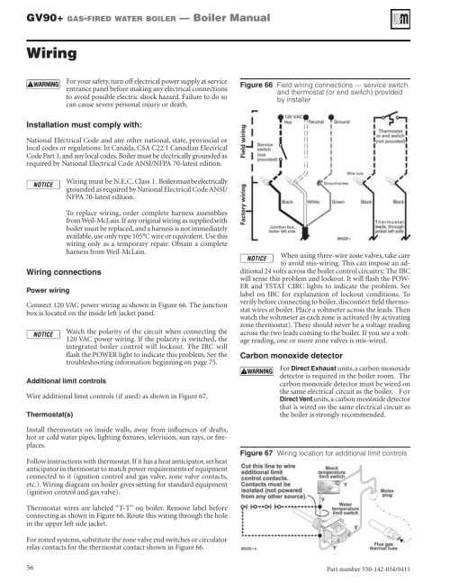 small resolution of wiring gv90 boiler manual weil mclain gv90 user manual page 56 108