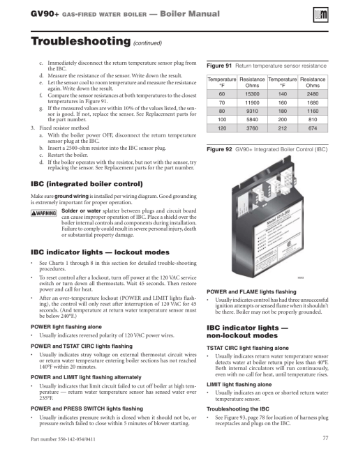 small resolution of troubleshooting gv90 boiler manual weil mclain gv90 user manual page 77