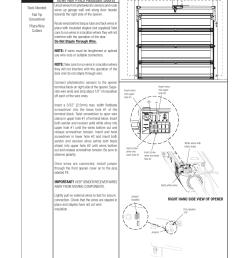 sensor wire installation wayne dalton idrive pro 3790 z user manual page 32 52 [ 954 x 1235 Pixel ]