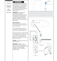 wiring diagram for wall mount garage door wiring diagram datasource warning wired wall station installation [ 954 x 1235 Pixel ]
