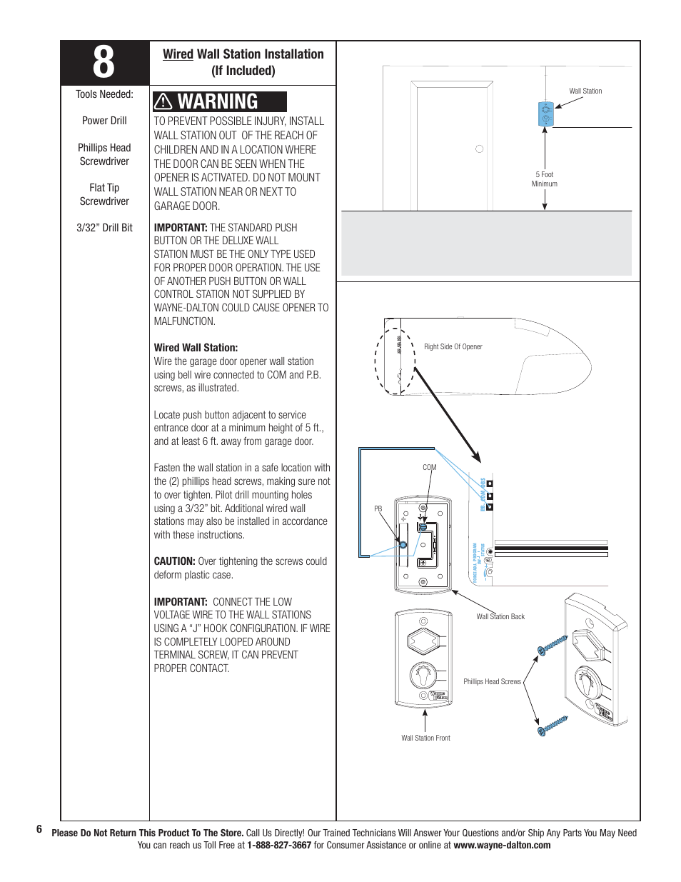 hight resolution of wiring diagram for wall mount garage door wiring diagram datasource warning wired wall station installation