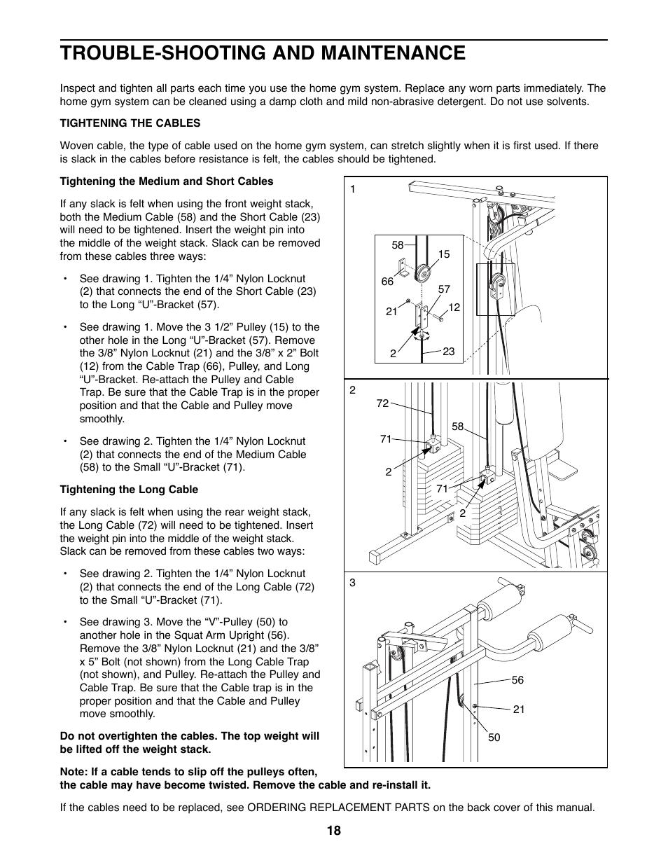 ... Array - weider 8530 home gym instruction manual gymtutor co rh gymtutor  co