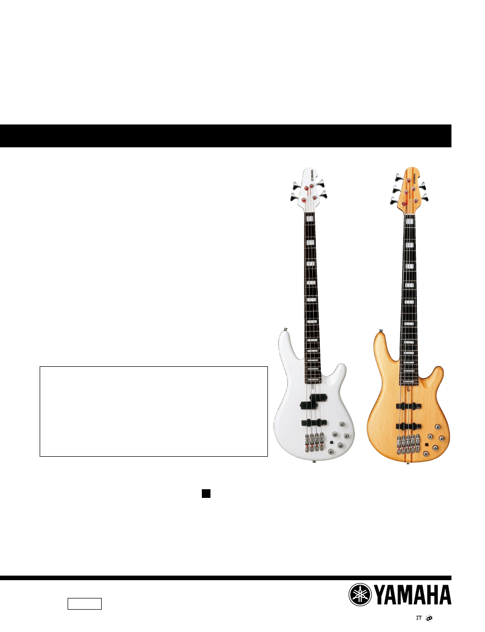 medium resolution of yamaha electric bass bb2004 user manual 11 pages also for electric bass bb2005