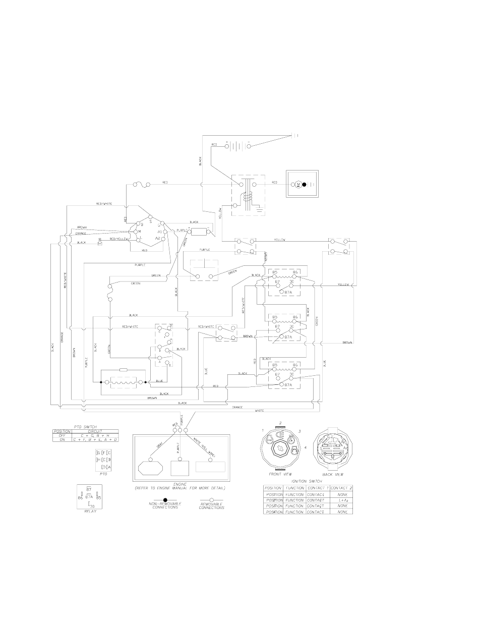 hight resolution of wiring diagram yazoo kees 968999506 user manual page 34 36 yazoo ignition switch wiring diagram