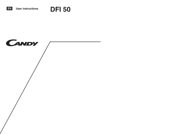 candy ls dfi 50 uk user manual