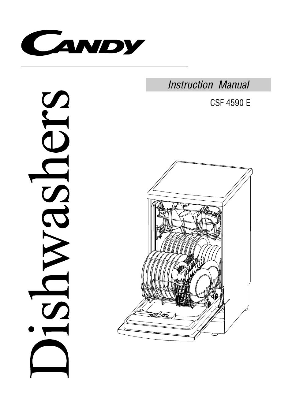 CANDY CSF 459 E PDF