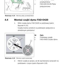 4 monta czujki dymu fad o420 bosch fad 420 hs en [ 955 x 1430 Pixel ]