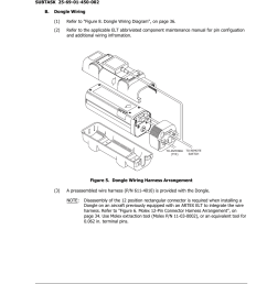 b dongle wiring figure 5 dongle wiring harness arrangement acr artex dgl 1 user manual page 33 44 [ 954 x 1235 Pixel ]