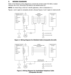 wiring diagrams artex products acr electronics inc 0023 rev g acr artex me406 ace 455 0023 user manual page 11 33 [ 954 x 1235 Pixel ]