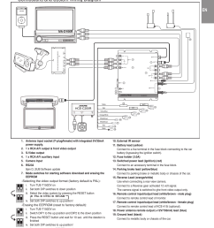 installation and connections connections and system wiring diagram precautions alpine tue t150dv user manual page 19 140 [ 955 x 1339 Pixel ]