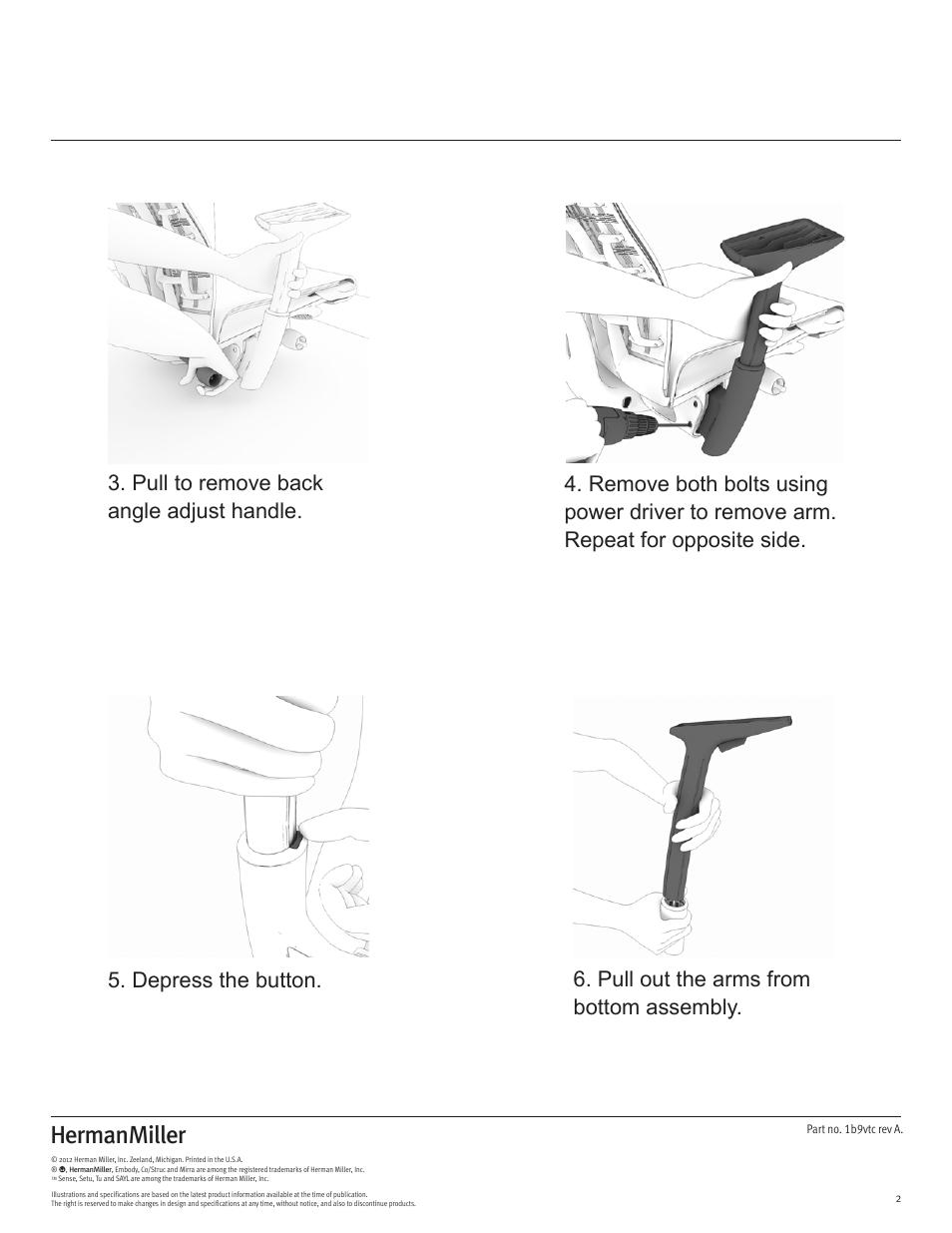 Aeron Chair Parts