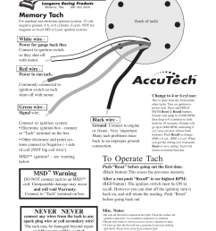 tachometer wiring diagram for point system [ 954 x 1235 Pixel ]