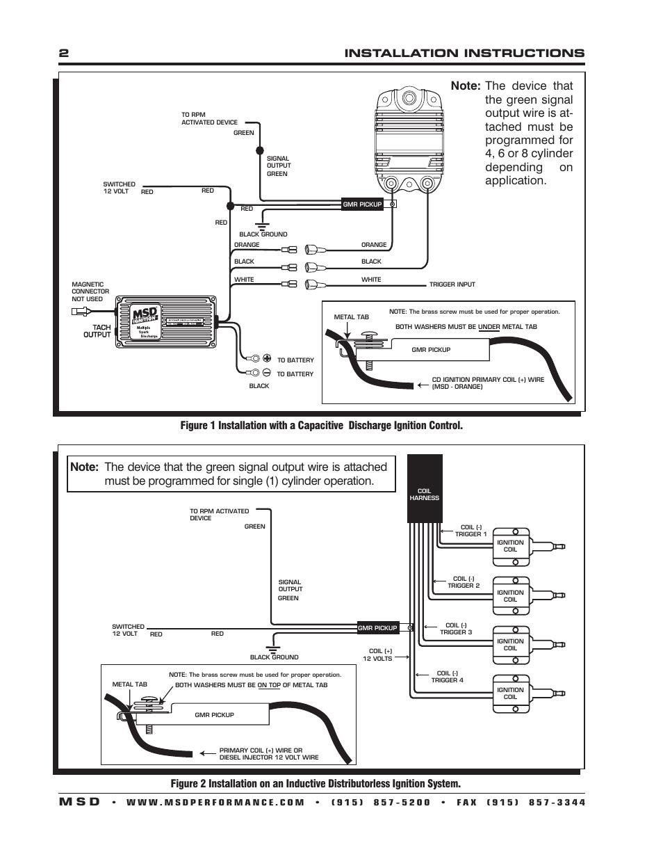 medium resolution of msd coil tach wiring wiring diagram forward msd coil tach wiring