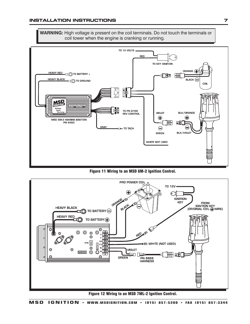 msd 8560 chevy v8 marine certified distributor installation page7?resize\=665%2C861 8560 dist msd 6al wiring diagram,msd \u2022 indy500 co  at cos-gaming.co