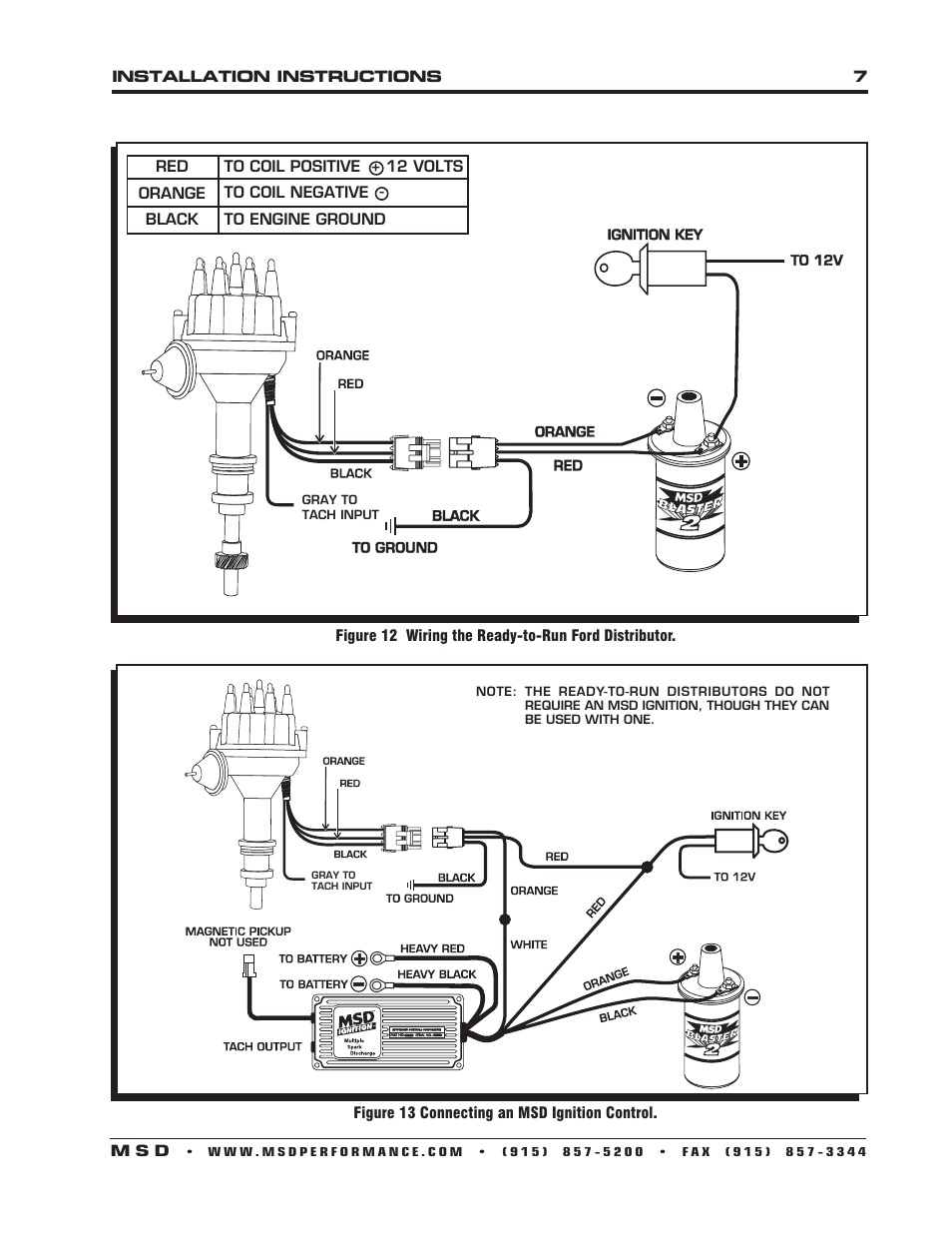 ford 460 distributor wiring diagram mitsubishi fuso diagrams blog data msd ready to run best library ignition module schematic