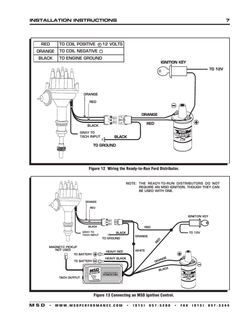 small resolution of ford 460 msd distributor wiring wiring diagram article review ford 460 msd ignition wiring diagram wiring