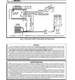 msd 8363 cadillac v8 distributor w vacuum advance installation user manual page 8 8 [ 954 x 1235 Pixel ]