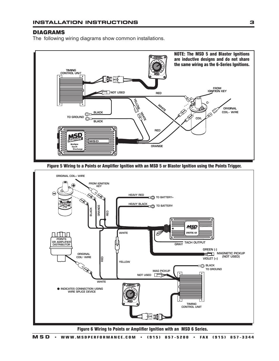 WRG-2586] Msd 7al 3 Wiring Diagram