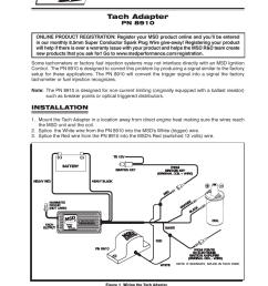 msd 8910 tach adapter installation user manual 2 pages msd 6al starter relay wiring msd tach adapter wiring [ 954 x 1235 Pixel ]