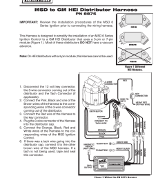 msd 8875 wiring harness gm hei installation user manual gm hei ignition module wiring gm 5 pin hei module wiring [ 954 x 1235 Pixel ]