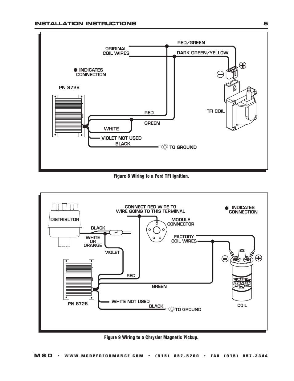 msd 6a wiring diagram mopar dual 2 ohm sub 8560 dist 6al great installation of rev limiter ignition mustang for