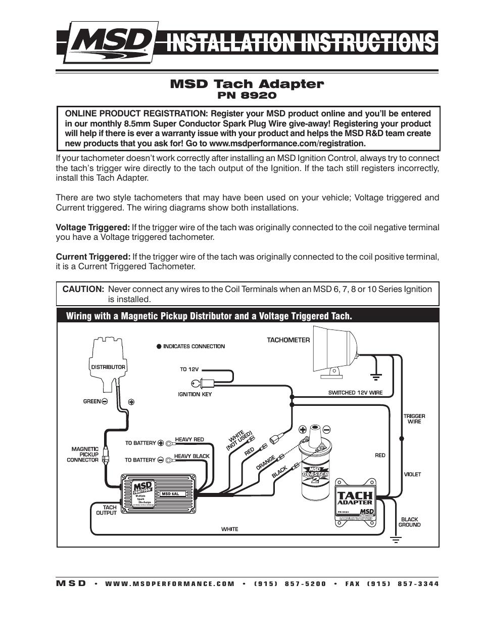 Eagle Tach Wiring | Wiring Diagram