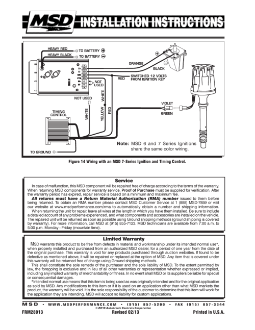small resolution of chevy wiring msd 8570 wiring diagrams second chevy wiring msd 8570