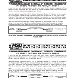msd 7530t programmable digital 7 ignition control user manual 1 page [ 954 x 1235 Pixel ]