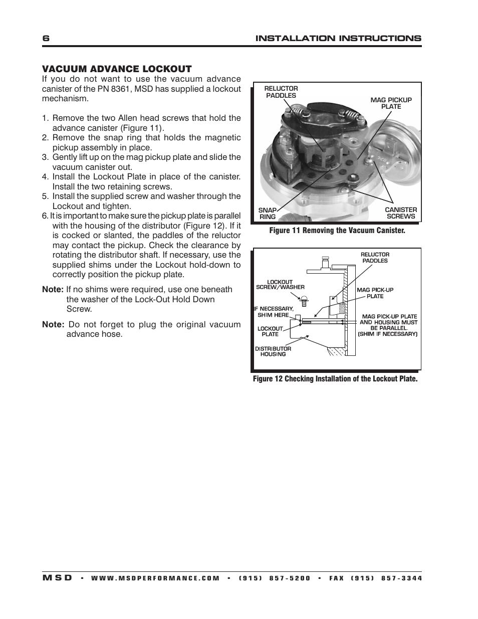 MSD 85551 Chevy V8 Pro-Billet Distributor Installation